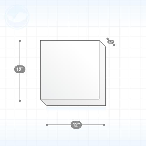 Canvas print 1ft square